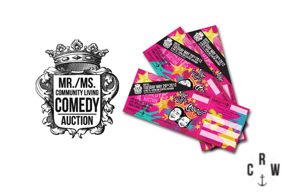 MrMs Comedy Auction Event Collateral